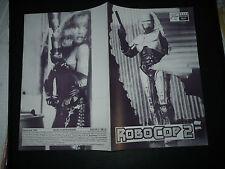 ROBOCOP 2, orig Austrian Film program [Peter Weller, Nancy Allen]
