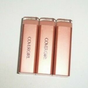 3 tube lot COVERGIRL COLORLICIOUS LIPSTICK 230 CREME unsealed