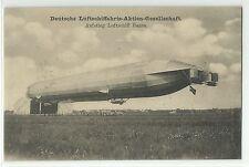 Zeppelin Hansa Passagierfahrten mit Zeppelin-Luftsschiffen um 1910 R!