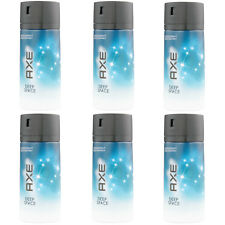 6 x 150ml Axe DEEP SPACE Deo Deospray Deodorant Bodyspray Herren Parfüm