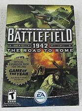 Battlefield 1942 The Road To Roam PC Game 2002 Windows 98/2000/ME/XP