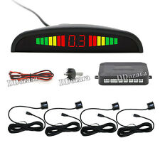 Parking 4 Sensors Car Reverse Backup Rear Buzzer Radar System Kit Sound Alarm BL