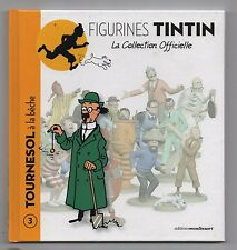 Figurines Tintin la collection officielle. Album n°3. Tournesol. Moulinsart 2011