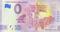 BILLET 0  EURO TORO CIUDAD ENOLOGICA  2021 NUMERO DIVERS