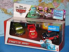 Disney World Of Cars Streets Of Japan Tokyo Mater Dragon Mcqueen 3 Pack