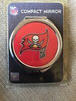 "Tampa Bay Buccaneers NFL 2.5"" Compact Mirror. New"