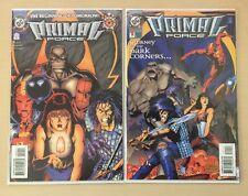 Primal Force #0 & #1 (1994, DC Comics) High Quality lot of 2