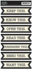 JBS Banner Stickers-TO DO LIST scrapbooking journaling