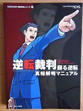 JAPAN Phoenix Wright Gyakuten Saiban 1 Investigate into TRUTH