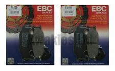 YAMAHA xj-6 DIVERSION 2009-2013 Set EBC Pastillas de Freno Frontales FA199