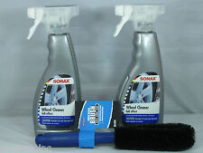SONAX FULL EFFECT WHEEL CLEANER 16.9OZ SPRAY WITH SM ARNOLD SPOKE WHEEL BRUSH