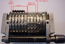 "(O)-Roberts Offset Number Machine MICR/E-13B 10 Digit with Onus symbols18.849"" C"
