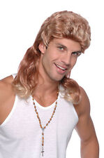 MULLET TWO TONE BLONDE GINGER BUDGET WIG FANCY DRESS ACCESSORY PARTY