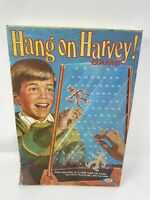 VINTAGE 1969 IDEAL HANG ON HARVEY! BOARD GAME UN-PUNCHED NOT USED! COMPLETE