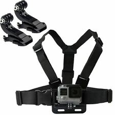 Shoulder Chest Strap Mount Harness Belt For Nikon KeyMission 360/170 Action Cams