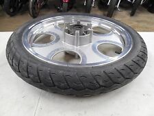 2007 07 Johnny Pag Raptor 300 Front Wheel Rim w Nice 90/90-18 Tire