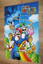 1999 Super Mario Bros. Deluxe /Star Wars Episode I Racer Poster 44x30cm Nintendo