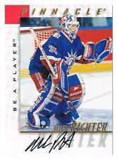 1997-98 Be A Player BAP Autograph Auto #37 Mike Richter !!