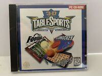 3-D Table Sports PC CD-ROM Video Game