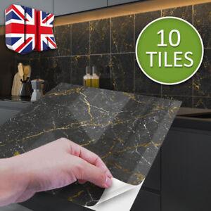 Kitchen Tile Stickers Bathroom Mosaic Sticker Self-adhesive Wall Home Decor 40x