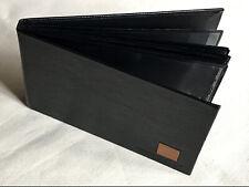 Black Faux Leather Photo Album, 4 x 6inch (10 x 15cm) Photos, Holds 36 Photos
