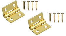 12mm Butt Hinge 12mm Hinges Set Of Two Pressed Hinges & Pins 5470