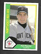 PHIL PLANTIER 1990 PAWTUCKET RED SOX ROOKIE CARD #21