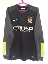 MANCHESTER CITY 2013 2014 NIKE HOME GOALKEEPER FOOTBALL SHIRT JERSEY KIT