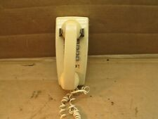 Vintage Western Electric Bell System Push Button Wall Phone Biege