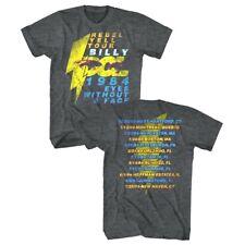 Billy Idol Rebel Yell Album Tour 1987 Eyeballs Mens T Shirt Punk Concert Merch