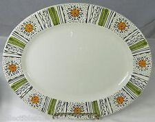 Kathie Winkle Capri Oval Serving Platter Plate Broadhurst Staffordshire England