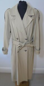VINTAGE WETHERALL TRENCH COAT/ MAC SIZE UK 12