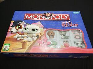 Authentic littlest pet shop lps monopoly board game