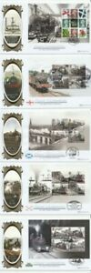 20 FEB 2014 CLASSIC LOCOMOTIVES BOOKLET PANES BENHAM BLCS 596 FIRST DAY COVERS
