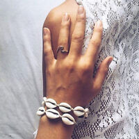 Women Boho Cowrie Sea Shell Bracelet Fashion Summer Beach Jewelry Lovely Gifts