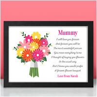 Nanny Mummy PERSONALISED Birthday Gifts for Mum Mam Mom Keepsake Present