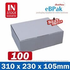 100x Mailing Box 310x220x102mm Diecut Carton 310x230x105mm A4 B2 BX2 Size