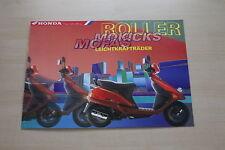 168065) Honda Scooter Roller Mofa Mokick Prospekt 12/1996