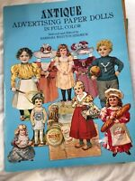 ANTIQUE ADVERTISING Paper dolls in full color  great details