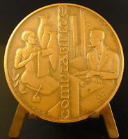 Medal the Accounting le Scribe Association of Accounting 59 mm 1968 Medal