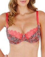 Lepel Rosey Underwired Balcony Bra 1484010 * Rose Pink * New Lingerie
