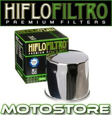 HIFLO CHROME OIL FILTER FITS SUZUKI VS750 INTRUDER 1987-1991