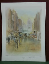 Douglas West ,Set of 4 London Popular View,Prints,Limited Ed.,Stamped and Signed