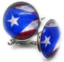 VINTAGE CUBAN FLAG CUFFLINKS MANUFACTURERS DIRECT PRICES !!!