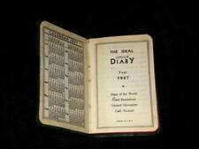 Antiquarian & Collectible Books Collection Here Handwritten Diary-seattle Wa Socialite-yachting-travel-concert Pianist-1929-1934