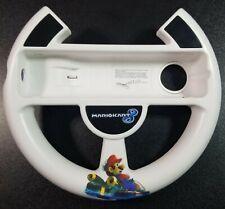Nintendo Mario Kart 8 White Steering Wheel Controller for Nintendo Wii/Wii U