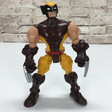 Marvel H/éroe Mashers Wolverine Figura De Acci/ón