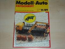 59624) Schweizer Müllwagen - Wiking Modelle - Modell-Auto 11/1989