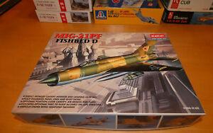 ACADEMY MIG-21PF FISHBED D SOVIET FIGHTER JET 1:48 ITEM#2166
