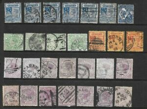 Bulk Stamps Victoria QV Selection  x 28 Good Used /Fine Used 1/2d to 2.5d